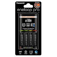 Panasonic Eneloop Pro K-KJ55HCD40E зарядное устройство + 4 АА аккумулятора 2500 mAh