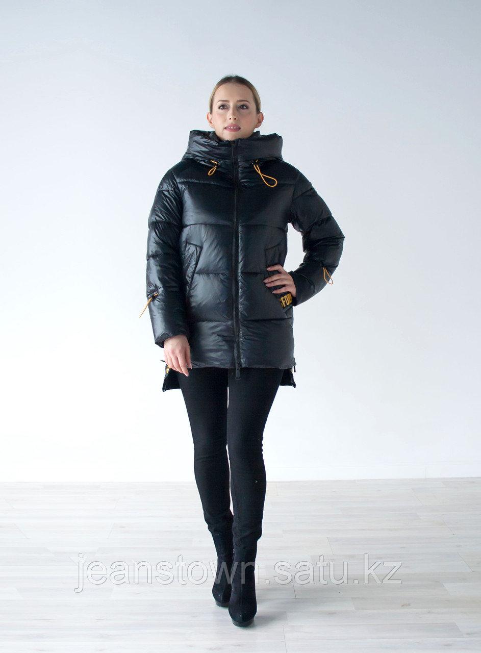 Куртка женская зимняя Evacana черная