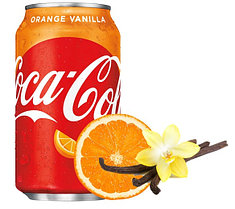Coca-Cola Orange Vanilla 0,355 литра США
