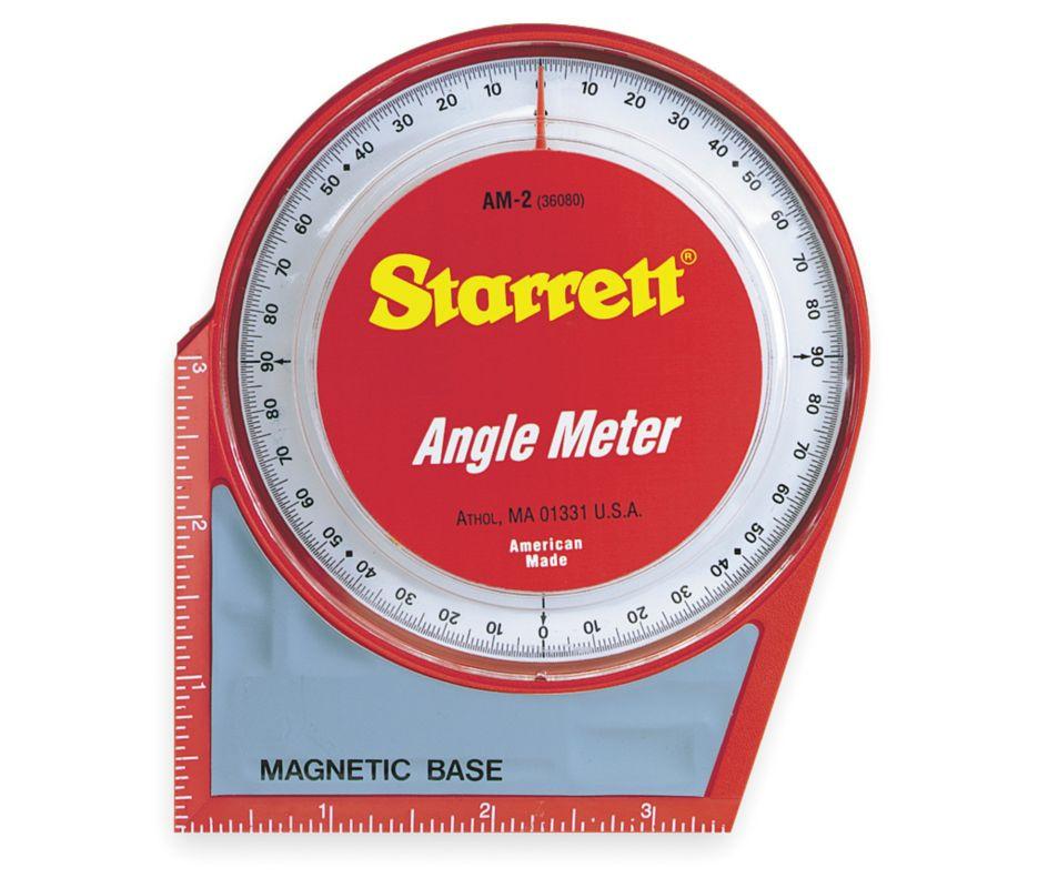 Уклономер Starrett Angle Meter, стрелочный, на магнитном основании