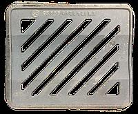 Люк водоприемный легкий (ЛМ) на шарнире, нагрузка 25т., 400/400, Вес 18кг., фото 1