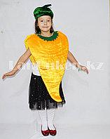 Карнавальный костюм детский овощи и фрукты болгарский перец, банан