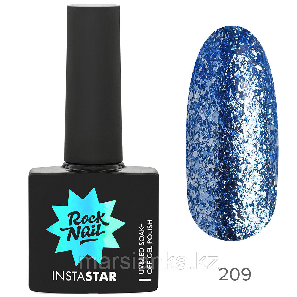 Гель-лак RockNail Insta Star #209 Miley, 10мл