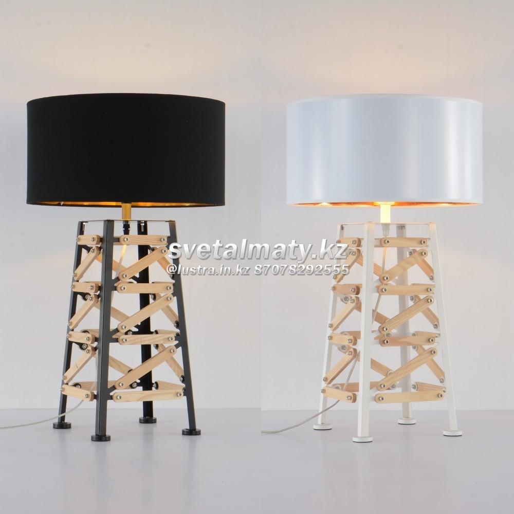 Настольный одноламповый светильник в стиле LOFT-MODERN