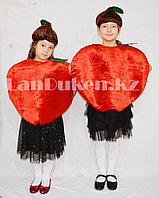 Карнавальный костюм детский овощи и фрукты красное яблоко, помидор, гранат