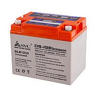Гелевая аккумуляторная батарея SVC GLD1233 12В 33Ач, Размер в мм.:195*132*168