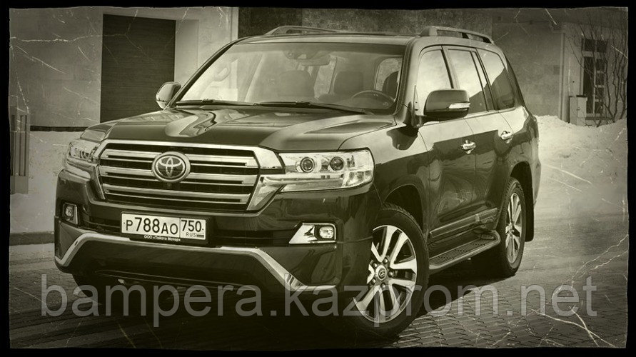 "Комплект обвеса ""Executive"" (пластик) для Toyota Land Cruiser 200 2016 модельного года"