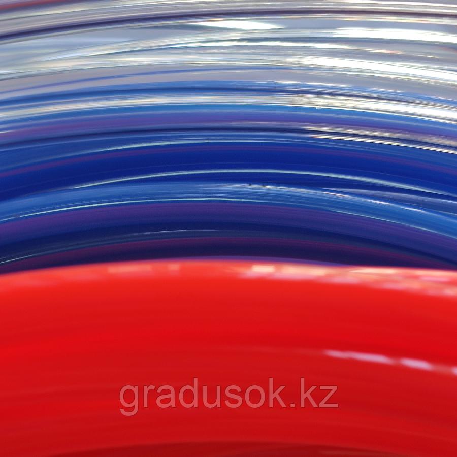 Пневмошланг белый, синий, красный 10 мм