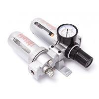 """Блок подготовки воздуха 3/8""""(фильтр + регулятор + маслодобавитель)(0-10bar, температура воздуха: 5°-60°С, 10мк)"""