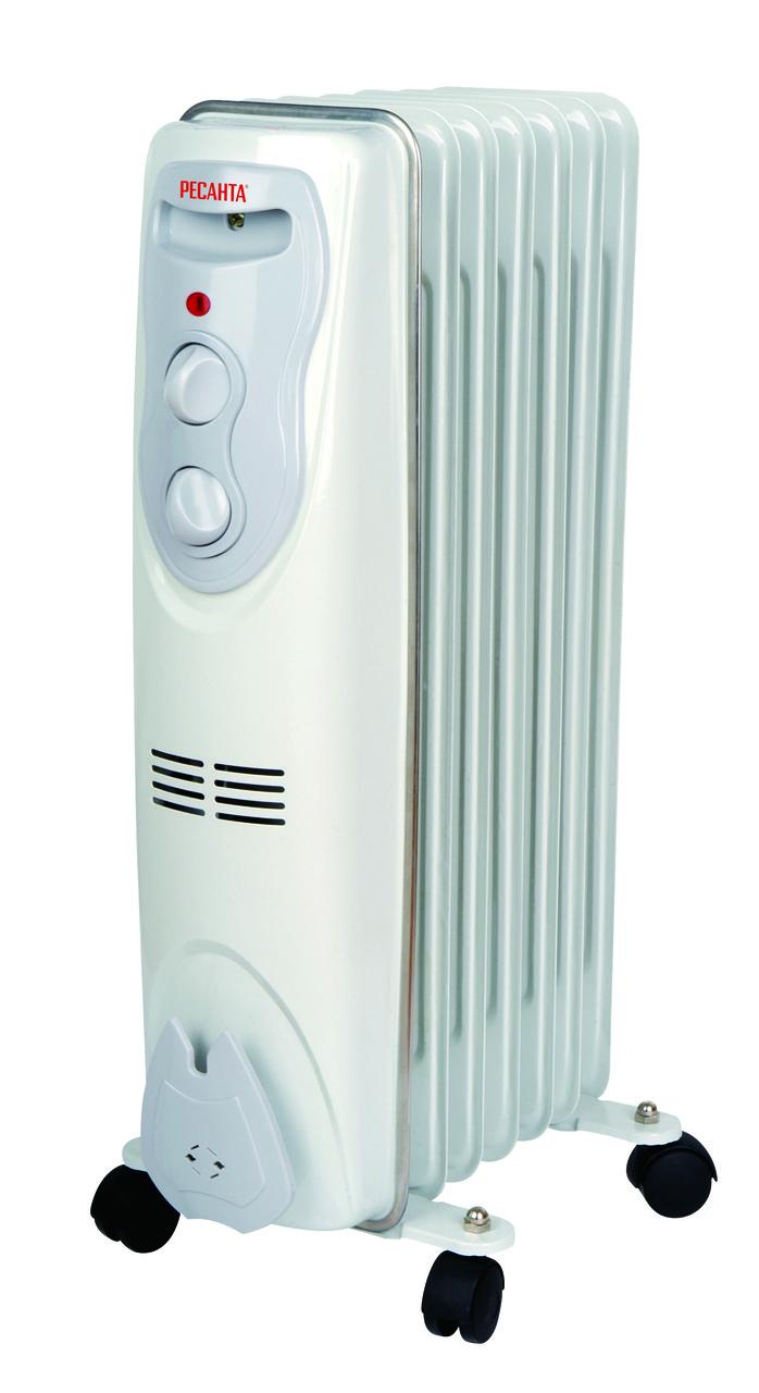 Масляный радиатор Ресанта ОМ-7Н (1,5 кВт)