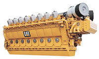 Газовый генератор Caterpillar CG170-12, CG170-16, Caterpillar CG170-20, Caterpillar CG260-12