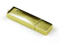 USB ФЛЕШКА ЗОЛОТИСТАЯ,МЕТАЛЛ 8 GB