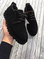 Зимняя замшевая обувь
