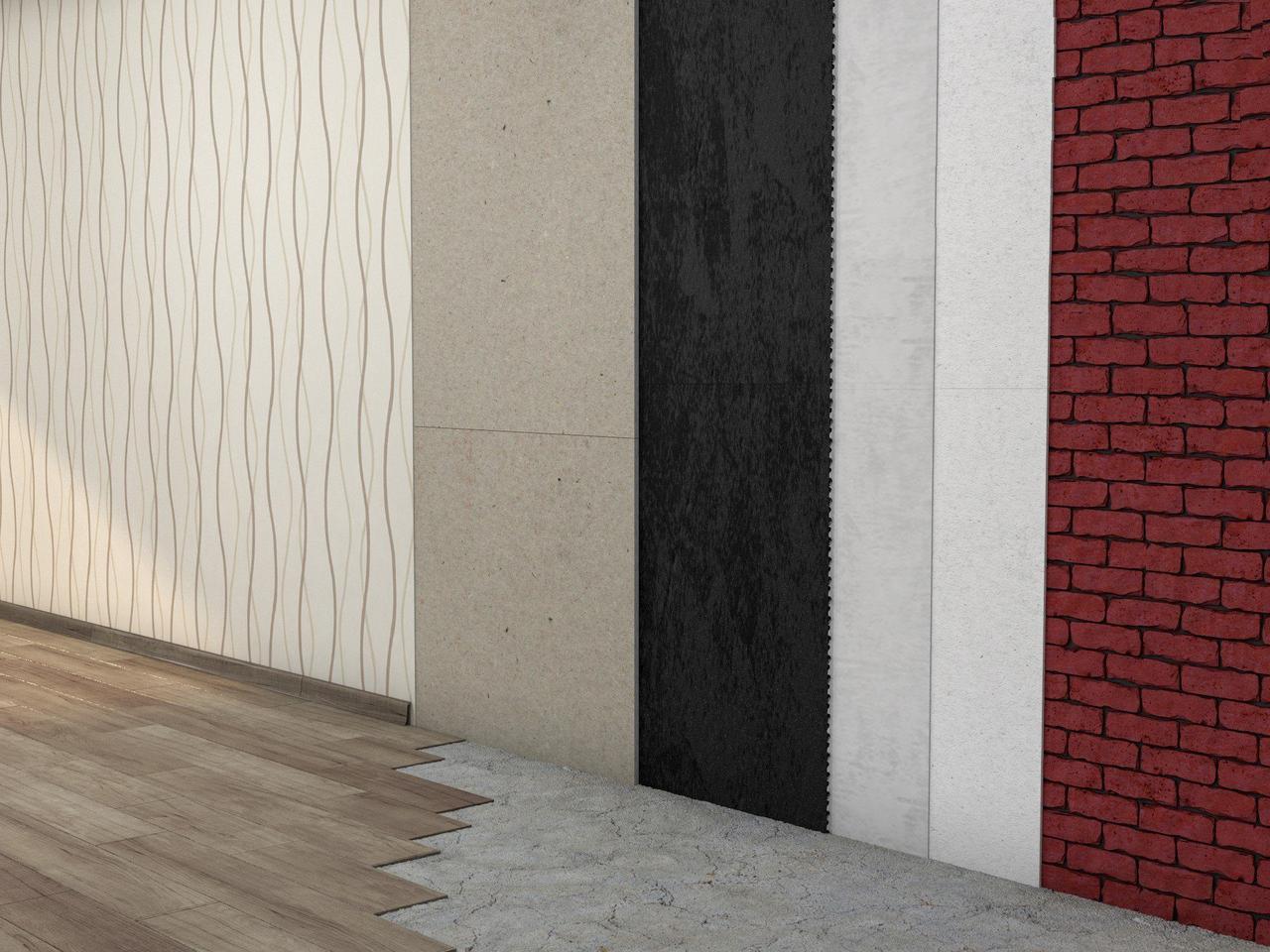 Бескаркасная звукоизоляция стен Стандарт +