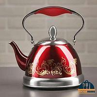 Заварочный чайник Fissman 1,5 л Красный