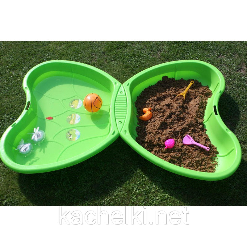 Песочница-бассейн бабочка