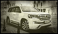 "Комплект штатного рестайлинга ""Executive 2016"" (пластик) для Toyota Land Cruiser 200, фото 1"