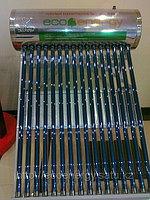 Солнечный водонагреватель 100л, 12 вакуумных трубок