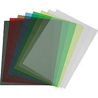 Обложка  ПВХ прозрачная глянец iBind А4/100/150mk  красный