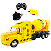 Truck Trailblazer R/C Trough Tipper Спецтехника Радиоуправляемая Бетономешалка, звук и свет
