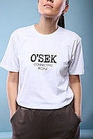 "Футболка  ""O`SEK  connecting people"""