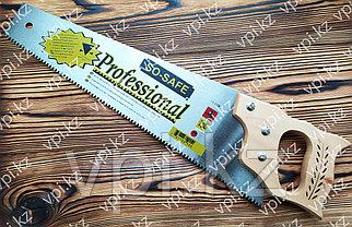 Ножовка по дереву  с деревянной ручкой 450мм., tpi 7-8