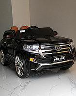 Детский электромобиль Pinghu City Goldtier Toyota Land Cruiser 200 Black  BSD188A-2, фото 1