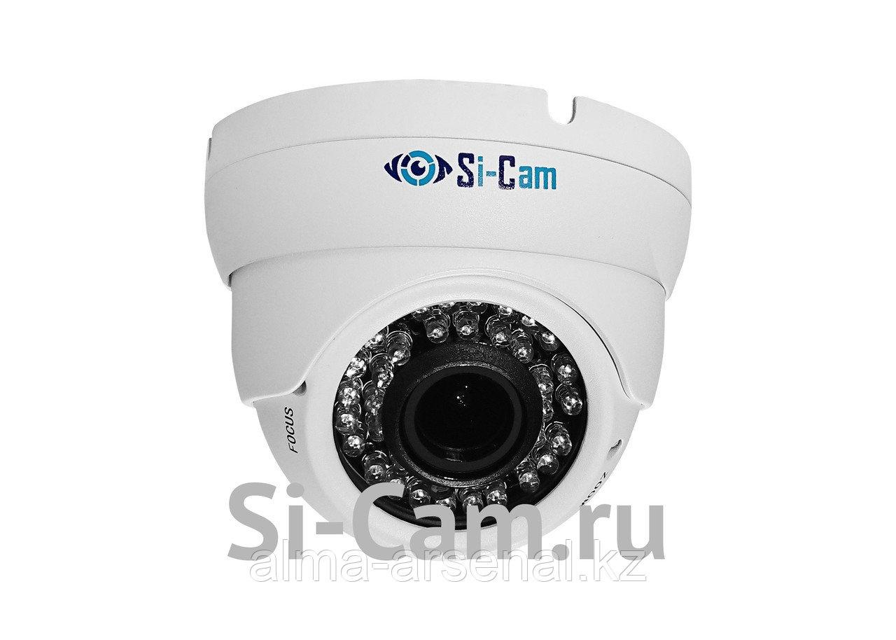 Купольная уличная антивандальная AHD видеокамера SC-HL202V IR