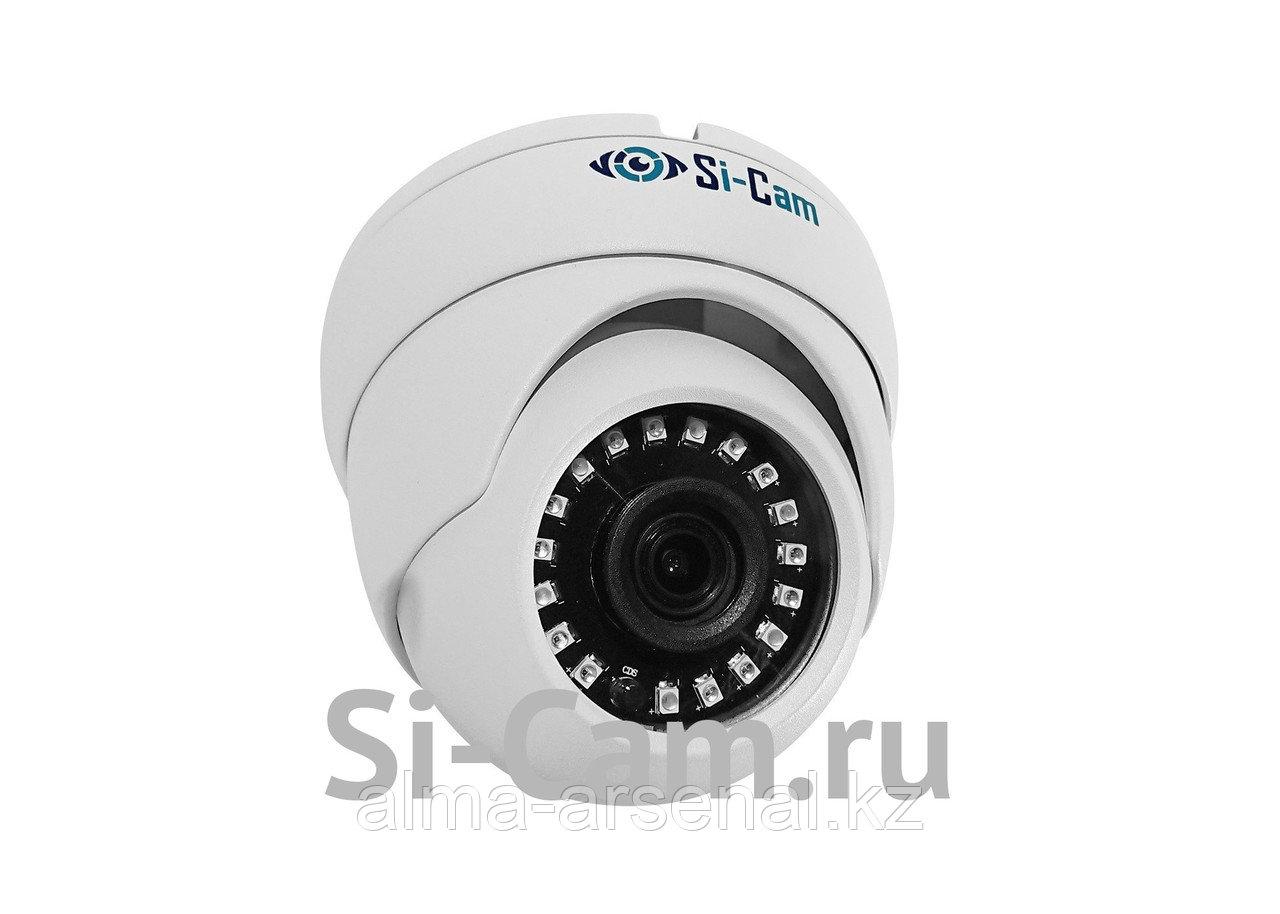 Купольная уличная антивандальная AHD видеокамера SC-HL402F IR