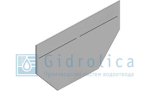 Заглушка торцевая стальная (СО-100), ЗТ 10 - 16. 8. 0,125
