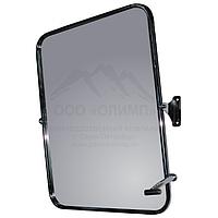 Зеркало 40 х 60 с регулируемым углом наклона, нержавеющая сталь