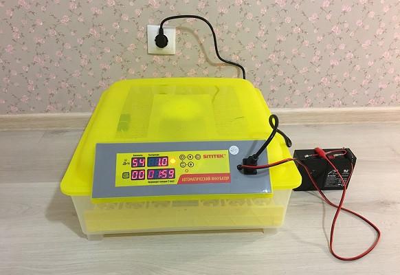 Бытовой инкубатор для 48 куриных яиц с контролем температуры, влажности и автоматическим переворотом SITITEK 48 (нажмите на фото для увеличения)