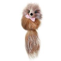 Игрушка для кошек Мышь из натурального меха, 5 см.