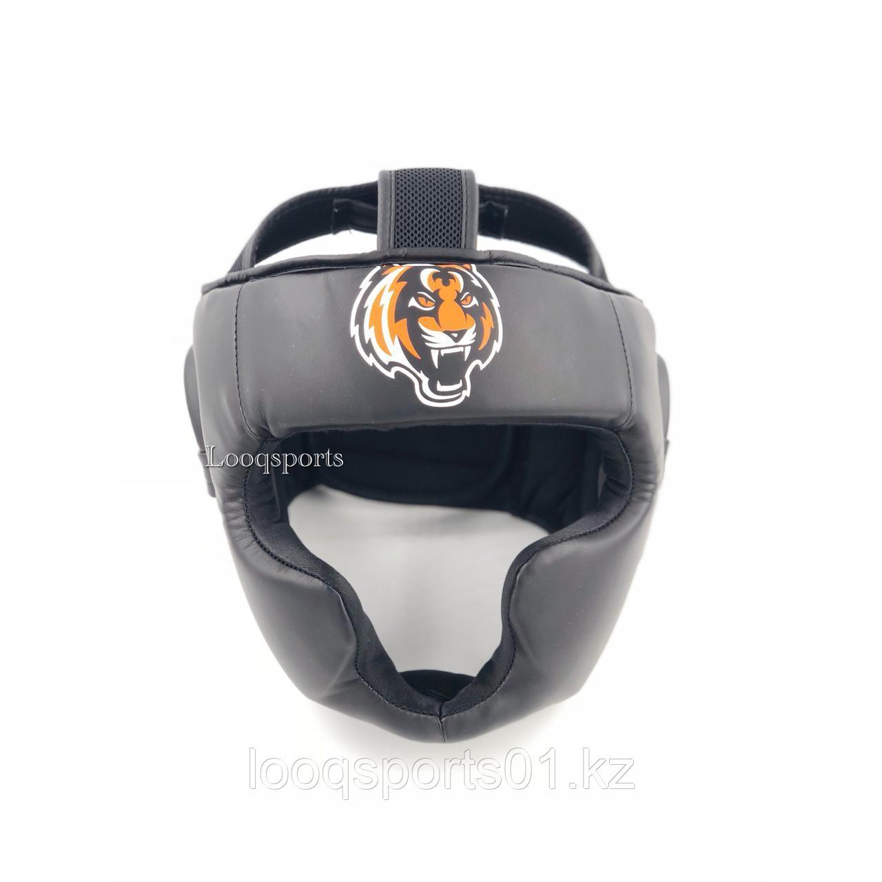 Закрытый боксерский шлем TIGER для единоборств с бесплатной доставкой