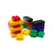 Развивающий детский Конструктор 106 элементов