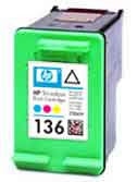 Картридж HP C9361HE Tri-color Inkjet Print Cartridge №136, 5ml