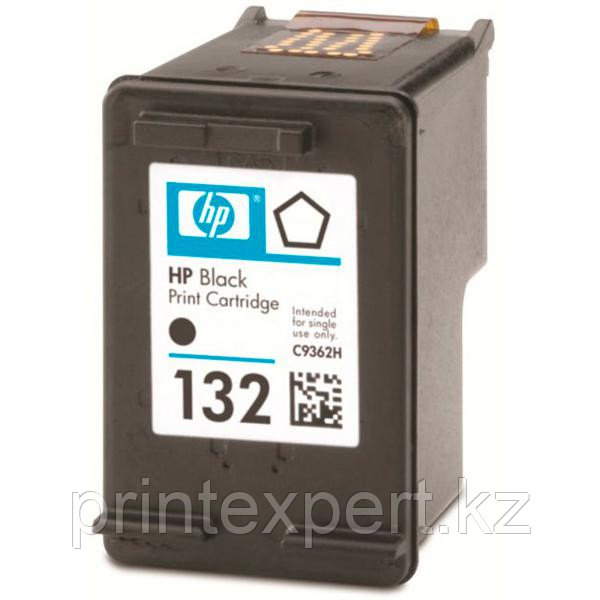 Картридж HP C9362HE Black Inkjet Print Cartridge №132, 5ml