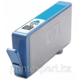 Картридж HP CD972AE Cyan Ink Cartridge №920XL, 6ml, for DJ 6000/6500/7000/7500 up to 700 pages JET TEK