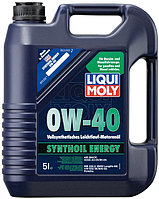 Масло моторное ликви моли Liqui Moly Synthoil Energy 0W 40, 5л