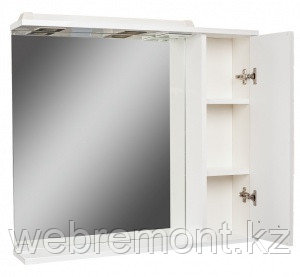Шкаф-зеркало Cube 65 Эл. правый (с подсветкой), фото 2