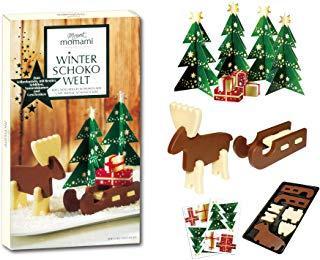 Рождественский шоколадный набор пазлы Mount Momami Winter Choco Welt (Германия)