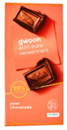 Темный шоколад G'woon Chocolate (Германия)