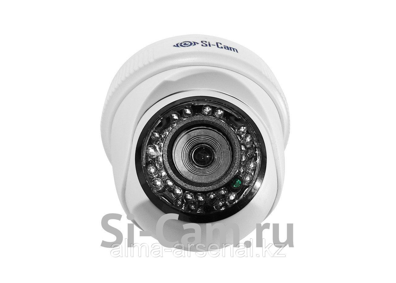 Купольная внутренняя AHD видеокамера SC-HS204F IR