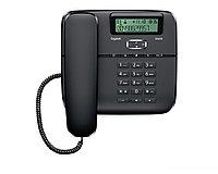 Gigaset DA610 Black, Стационарный аналоговый телефон, с дисплеем, цвет черный