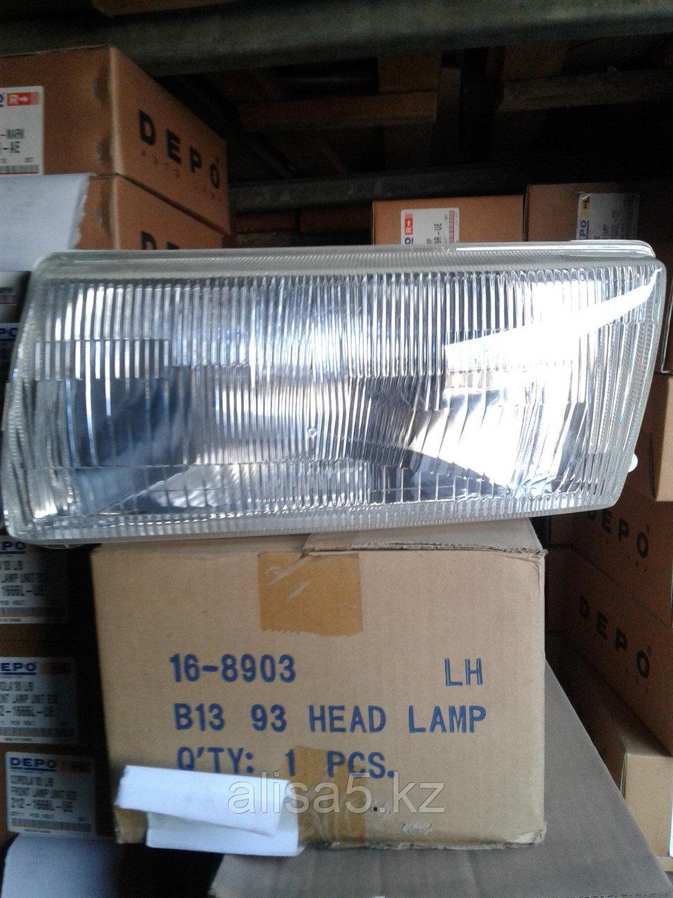 Nissan Sunny B-13 1992-1993 гг. Фара левая (Head lamp lh) 215-1154