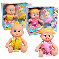 Bouncin' Babies 801011 Кукла плавающая с дельфином, 35 см