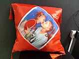 Принт на подушку. Разноцветные подушки, фото 9