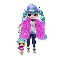 LOL OMG Winter Disco Cosmic Nova большая кукла ЛОЛ 30 см Нова, фото 1