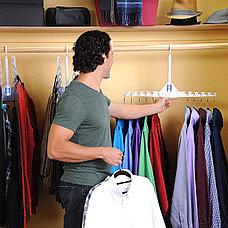 Складная двойная вешалка для одежды, фото 2