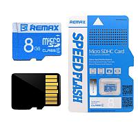 Карта памяти Remax Miscro SDHC Card 8Gb
